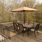 Image of an outdoor deck area