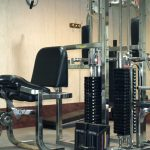 Image of a weight room
